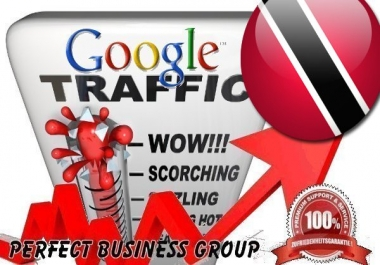Organic traffic from Google.tt (Trinidad and Tobago) with your Keyword