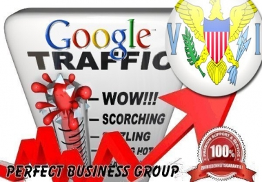 Organic traffic from Google.co.vi (US Virgin Islands) with your Keyword