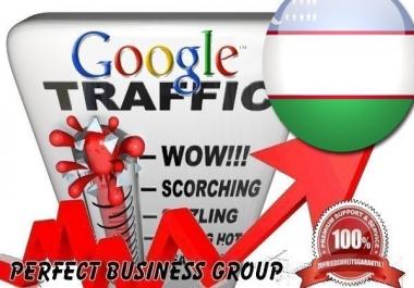 Organic traffic from Google.co.uz (Uzbekistan) with your Keyword