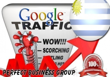 Organic traffic from Google.com.uy (Uruguay) with your Keyword