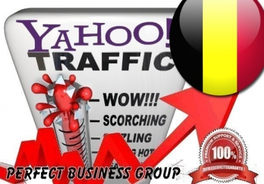Organic Visitors from Yahoo BE (Belgium) with your Keyword