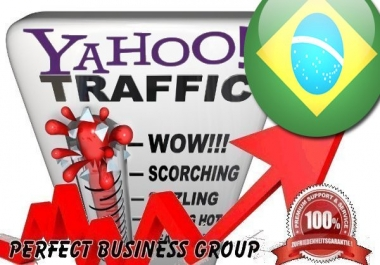 Organic Visitors from Yahoo! Brasil with your Keyword