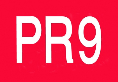 manually create 30 backlinks from PR9 domains