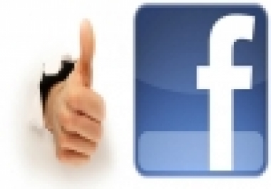 give you 100% real & active 115+1 Facebook Likes on ... for $1