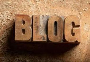 write 10 unique comments for blog posts for