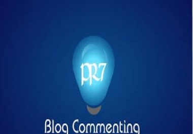 provide one PR 5 blog comment dofollow comment using your choice of keyword for