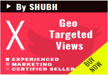 Add 1000 Geo Targeted Youtube Views