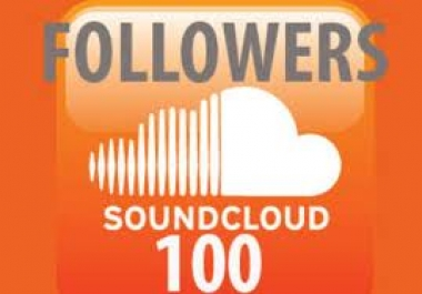Give you 120 soundcloud followers for $1