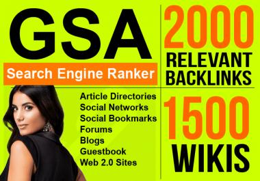 do GSA uniques pa da cf tf backlinks to sites youtube for yahoo bing seo