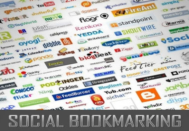 do Social bookmarking submission Manually to 200+ sites Including Top 50 sites and i will provide 500 high pr backlinks
