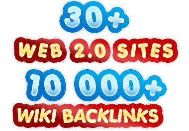 "build ""MULTI"" tier link pyramid with over 30 web 2 properties and over ""10000"" wiki backlinks"
