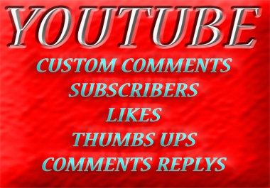 Give 20 Custom Comments in Youtube Video only for $1