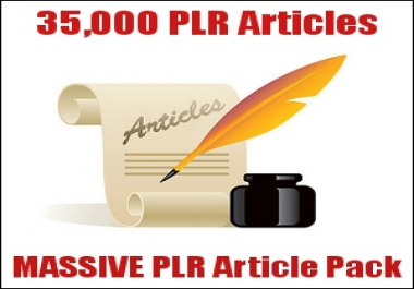 give you 35,000 Private Label Rights articles