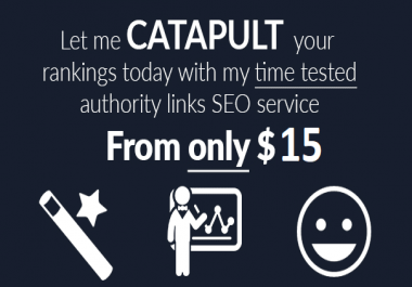 Catapult Your Rankings With My High Pr Seo Authority Links