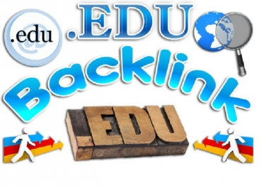 Generate 15 Edu backlinks for your SEO