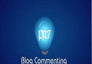 provide Manual HighPR Blog Comment 70 PR2 Dofollow on unique domains