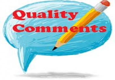 ★★write 5 quality, relevant comments on your blog for★★