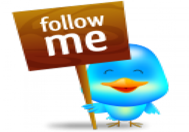 get you 100+20 twitter followers only for for $1