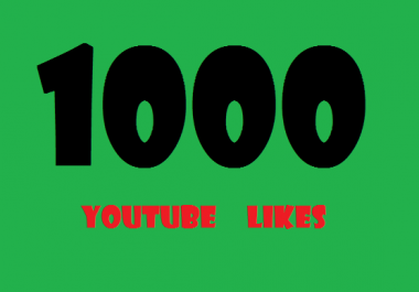 Active 1000 Youtube Likes