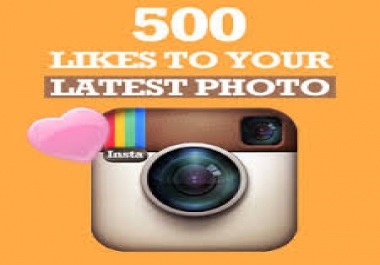 Provide you High quality 500 Instagram Followers Or Pict... for $1