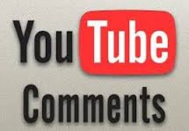 25+ Permanent youtube custom comments in your video for $1