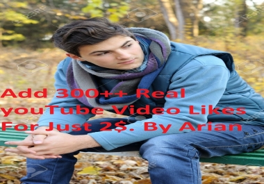 Get you 2000+ Real Active Human Verified YouTube Video Likes only