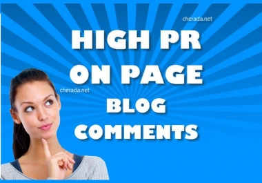 Provide 30 PR3 to PR7 actual page backlinks for your website using blog comments