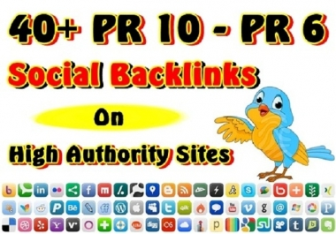 Supply 30 PR7 to PR8 Social Bookmarking