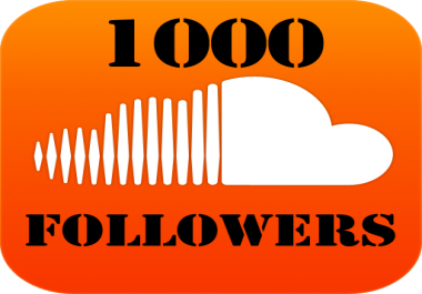 Give u 1000+ SOUNDCLOUD followers or likes