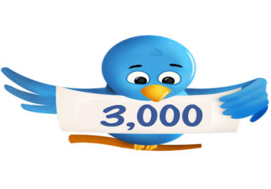 I will get you 3000+ twitter followers