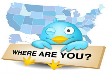 Get 1000 High Quality Targeted (USA, Japan, Arab) twitter followers