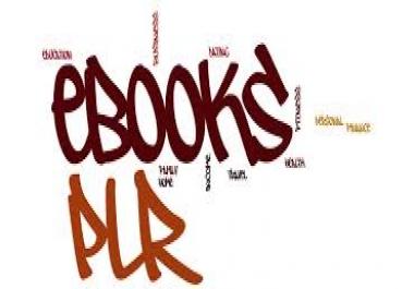 (EXCLUSIVE) 255 Unrestricted PLR eBooks