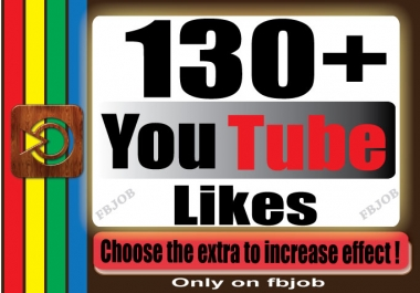 get you 130+ YouTube likes for your Video for $1