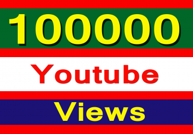 Fast 100000 Youtube views within 24-72 hours