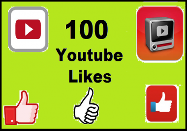 give you 100+ YouTube Likes In 24 Hours for $1