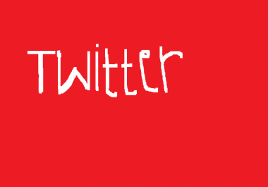 add You 100000+ (100k) Twiter Folowers your account Without Need Your Password just few hours