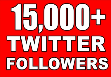 Get Instant 15000+ Permanent Twitter Followers Within 24 Hours Limited Time Offer For New Year 2017
