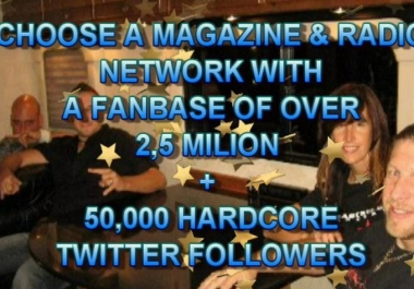 I Will Review Your Original Music On Jamsphere Magazine Plus Tweet To 200k Twitter Fans +  Post to 2 more PRO dotcom online Music magazines,GUARANTEE RESULTS