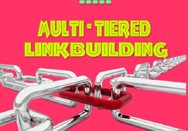 build multi tiered LINKBUILDING of 500 backlinks