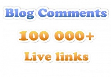build MASSIVE 20 000 blog comments with full report ... for $5
