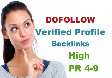 create 20 Dofollow backlinks from websites with high pr4 to pr9
