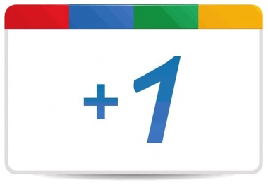 Plus 1 Your Website And Share It On Google Plus for $1