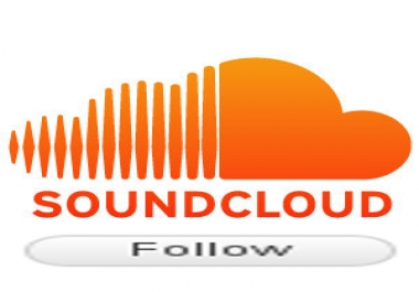 Provide you 100 real soundcloud followers for $1