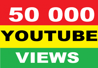 give your YouTube Video Over 50000 Unique Human Views within 3 days
