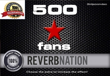 70 reverbnation fans gunion only for $1