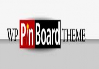 I will Install WP Pin Board Theme in your website