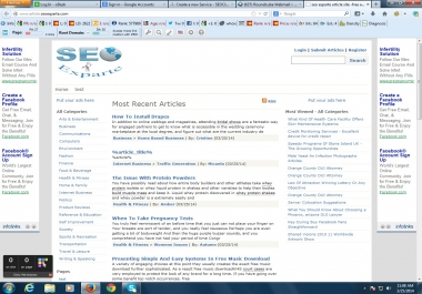 Banner Ads space available in our site homepage 15 k daily visitors.