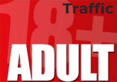 drive 40 Real USA Adult traffic to your site from USA for $1