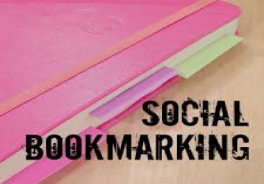 . Instantly Provide you 20 manually Top PR10-5 Social Bookmarks On Your Site with report within 24