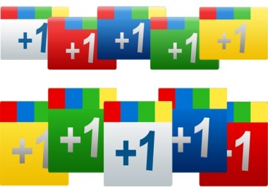 I will give 150+ Google +1 Votes for you Website or W... for $1